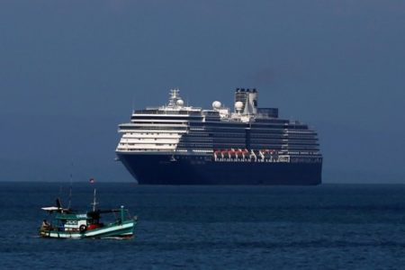 CRUISE SHIPS STRANDED OVER THE SEA AS PASSENGERS ARE NOT ALLOWED TO RETURN